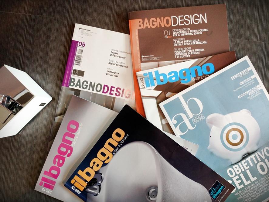 3 riviste di arredo bagno a cui sono abbonata for Riviste arredo bagno