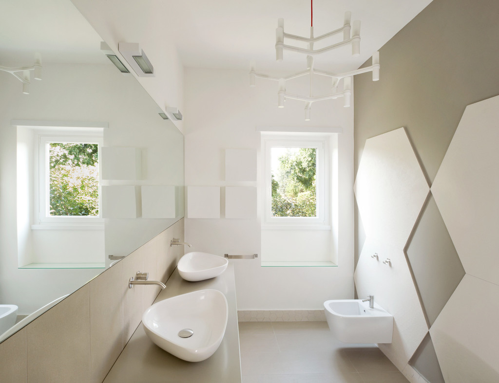 Bagno senza piastrelle - bathroom without tiles7b