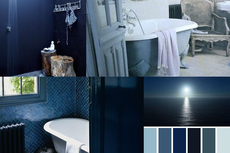 Bathroom Palette Blue Ocean
