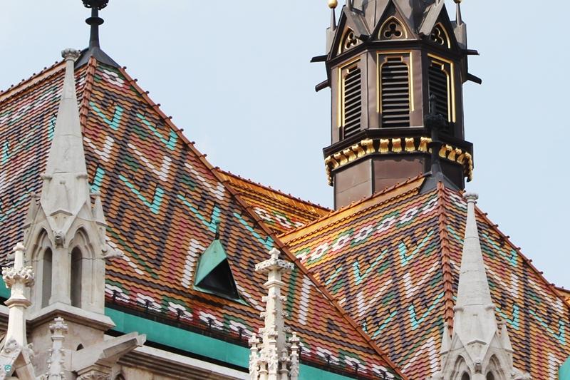 Budapest Matthias Church - Chiesa di Mattia tetto
