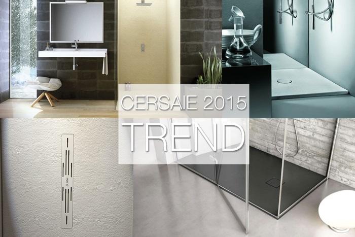 Cersaie 2015: trend piatti doccia su misura (le proposte delle aziende)