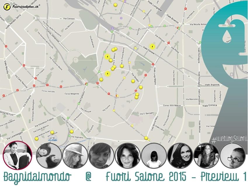 #weblogsaloni Bagnidalmondo al Fuori Salone 2015