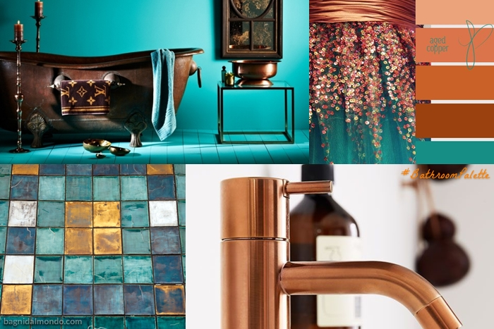 Copper+Turquoise Palette