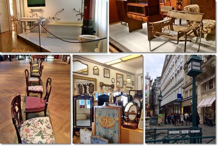 Tour di Vienna dedicato ad arredamento e design