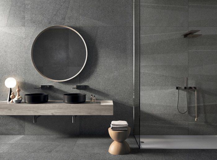 Rivestire il bagno con il gres grande formato: il progetto WIDE & STYLE di Flaviker