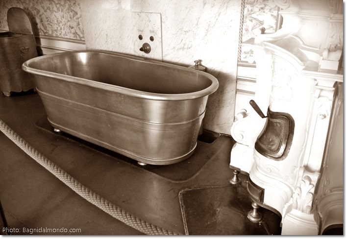 Vasca da bagno appartenuta alla principessa Sissi