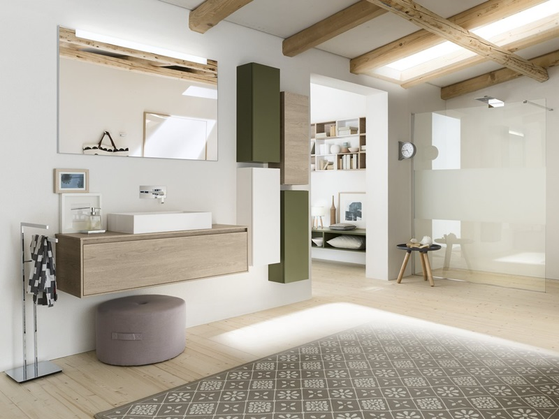 Bathroom Collections: Progetto & Perfetto by Inda