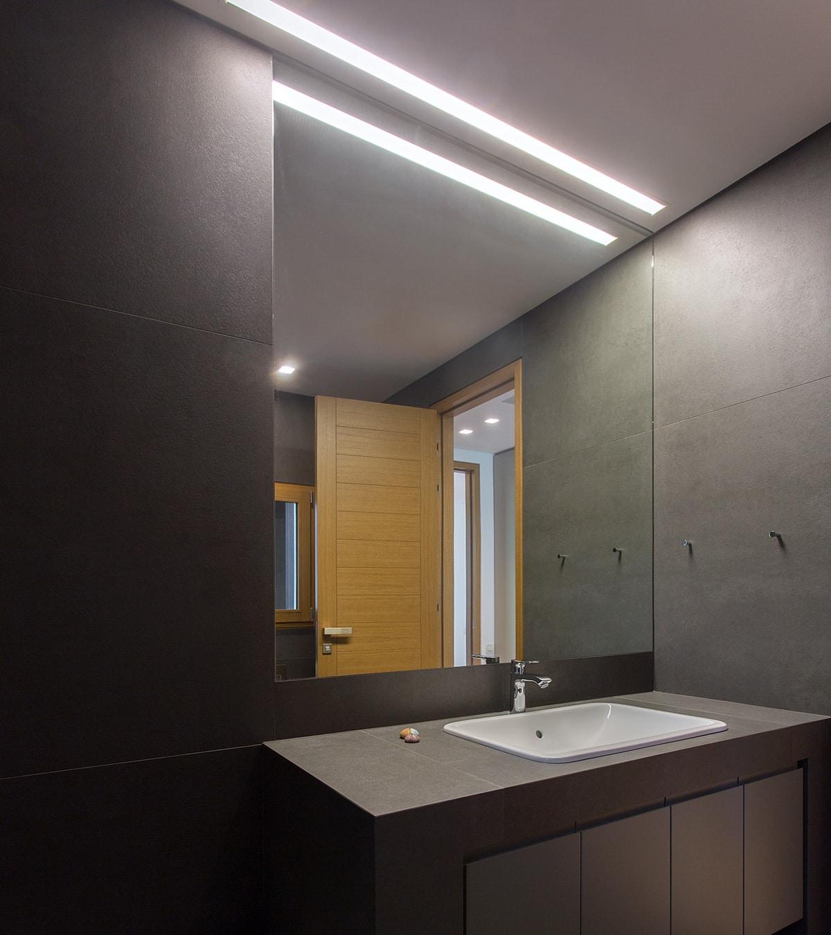 sicurezza lampade per bagno strip a led per specchio