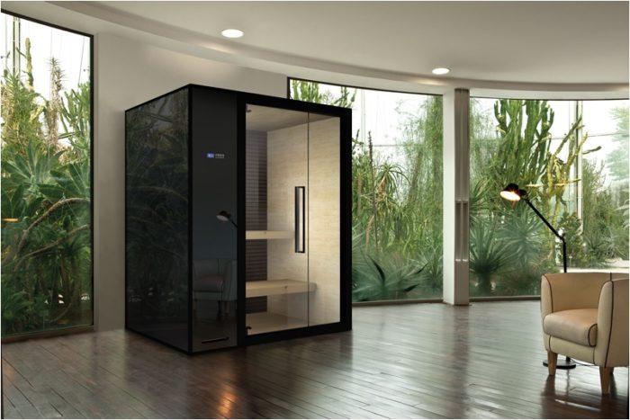 Sauna di design: Nirvana by Megius