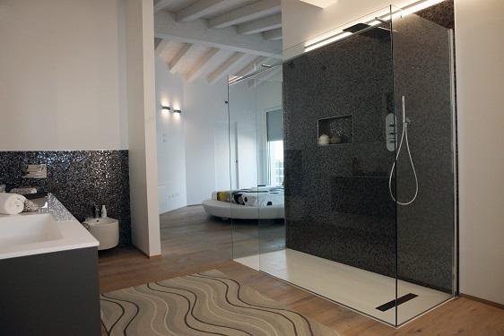 progettare la zona doccia in hotel. E-book
