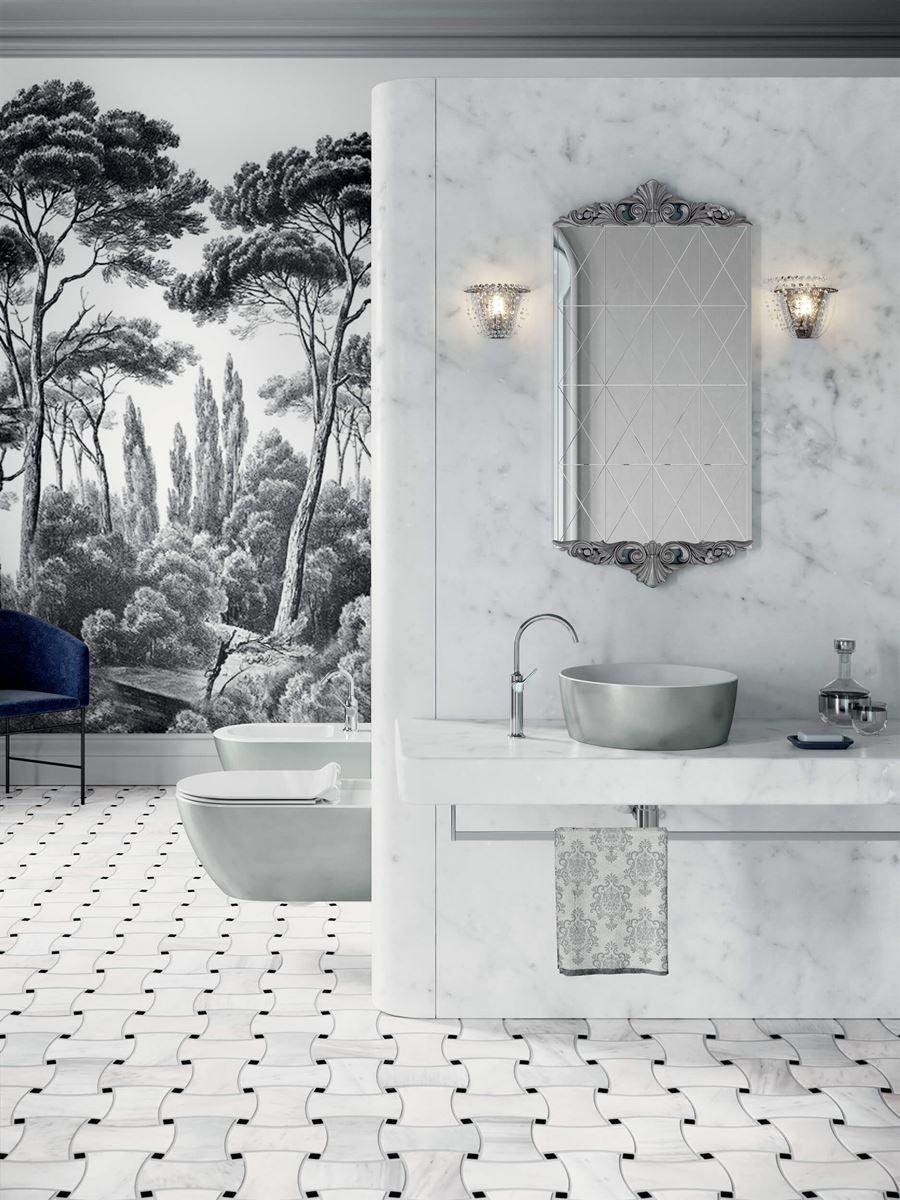 sanitari argento Platinum GSI Ceramica