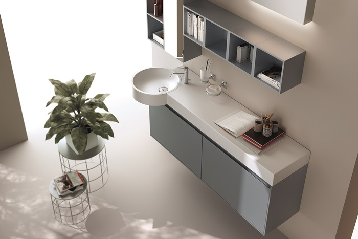 Bathroom collections rivo by scavolini besidebathrooms