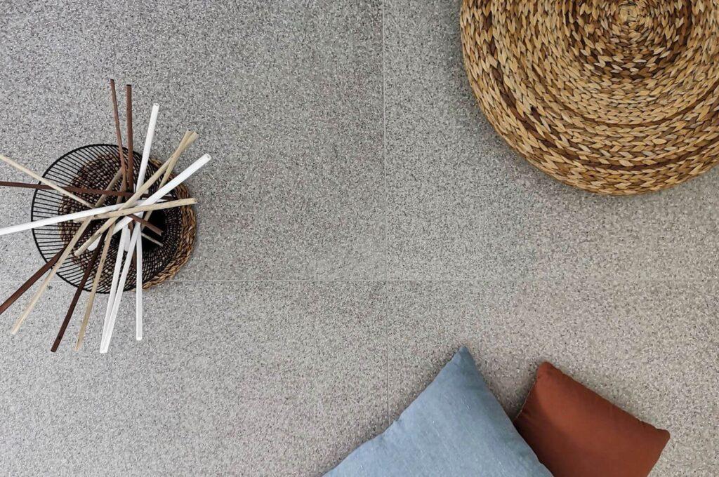 pavimento gres effetto graniglia