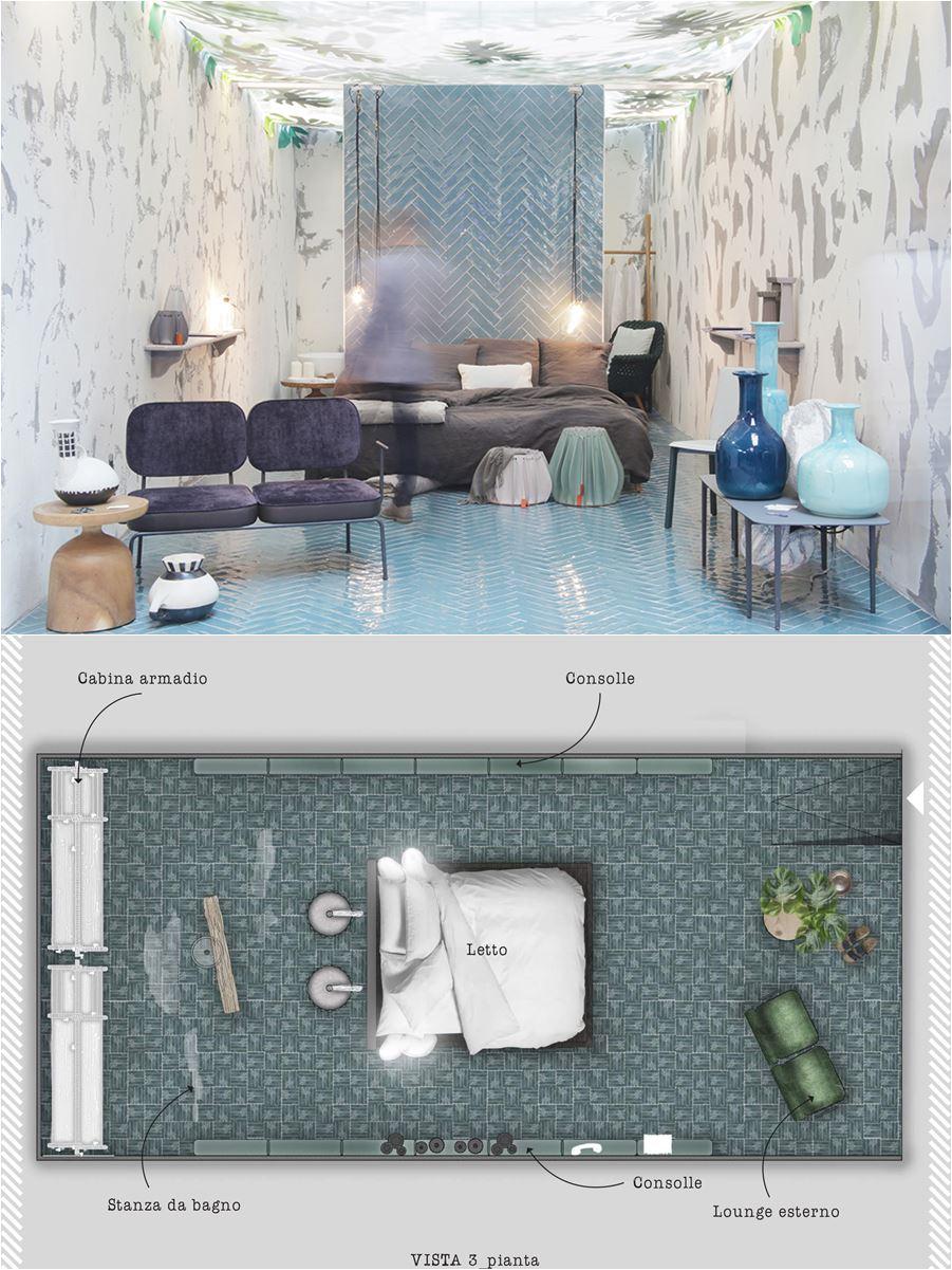 progetto camera hotel design