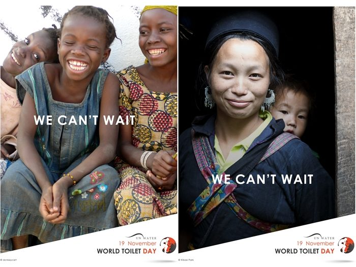 We can't Wait - World Toilet Day