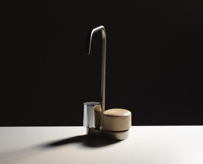 Rubinetto a doppio comando So, FIMA, design Davide Vercelli | Anticipazioni salone bagno 2018