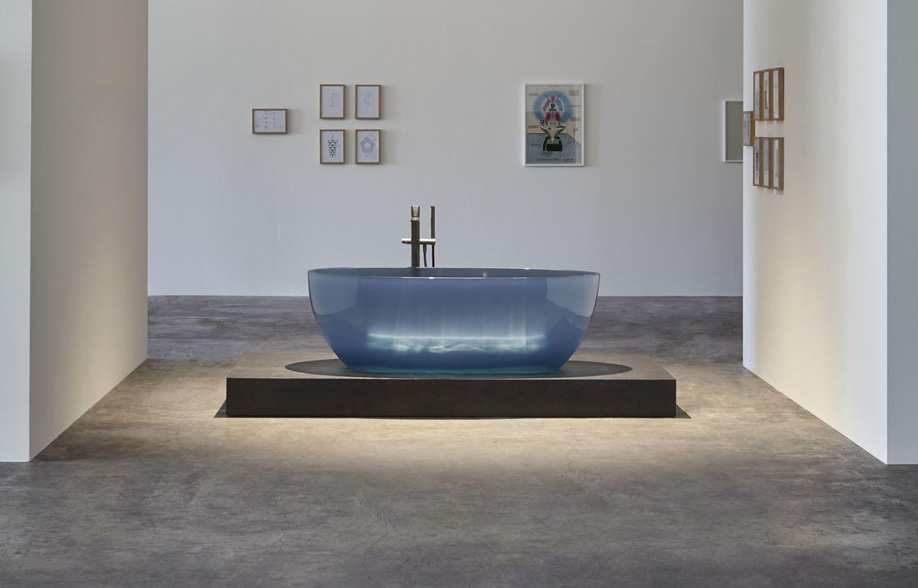Come Pulire Il Lavabo In Resina vasche e lavabi in resina trasparente: cristalmood® di