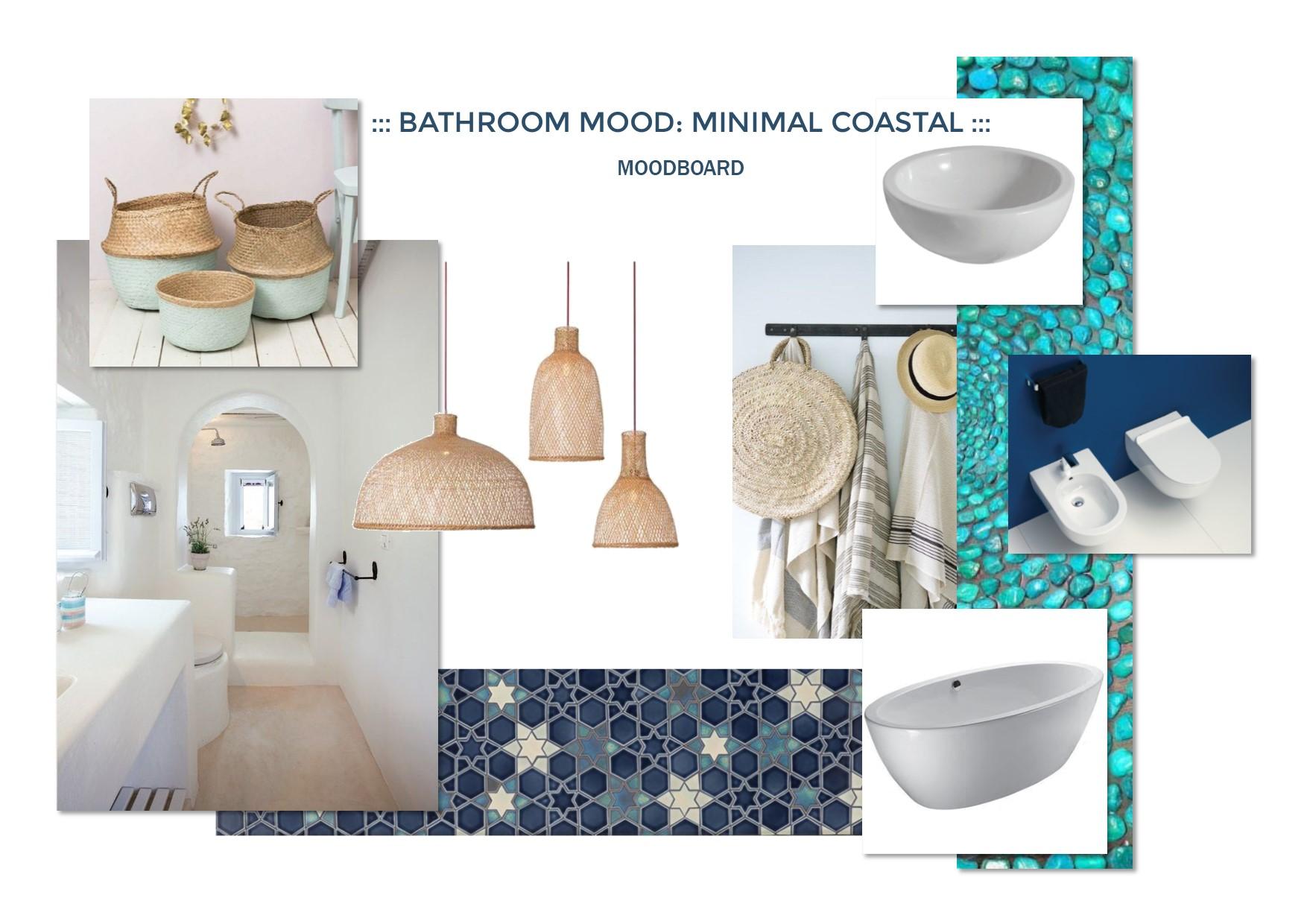 B mood: arredare il bagno della casa al mare con stile