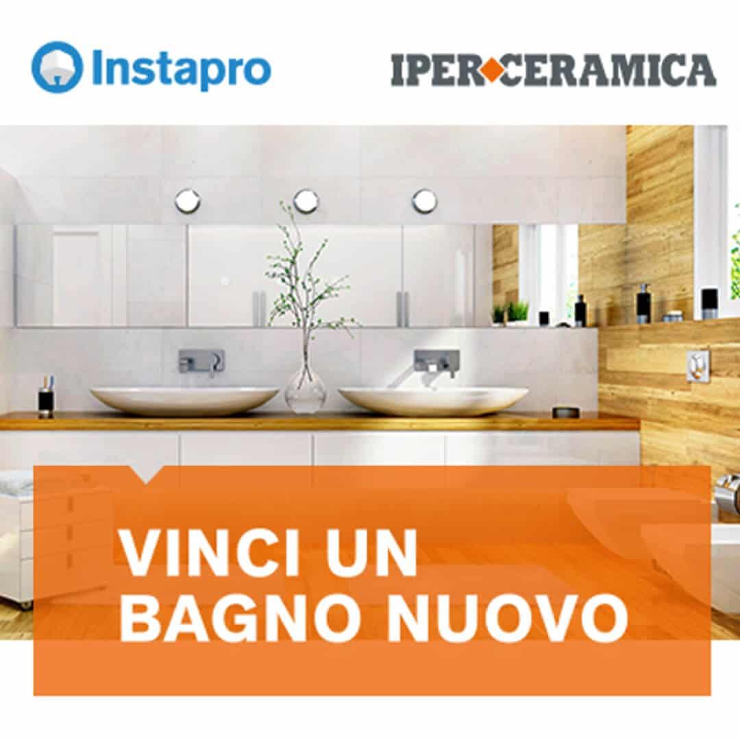 rifare il bagno gratis col concorso Instapro