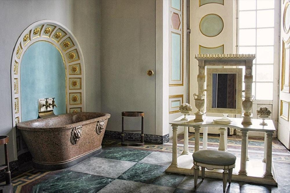Il bagno della reggia di Caserta