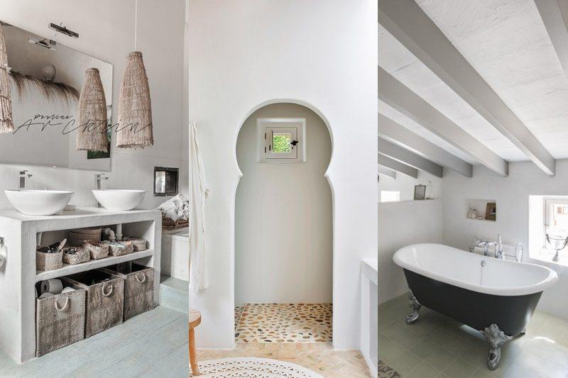 Un bagno in stile mediterraneo