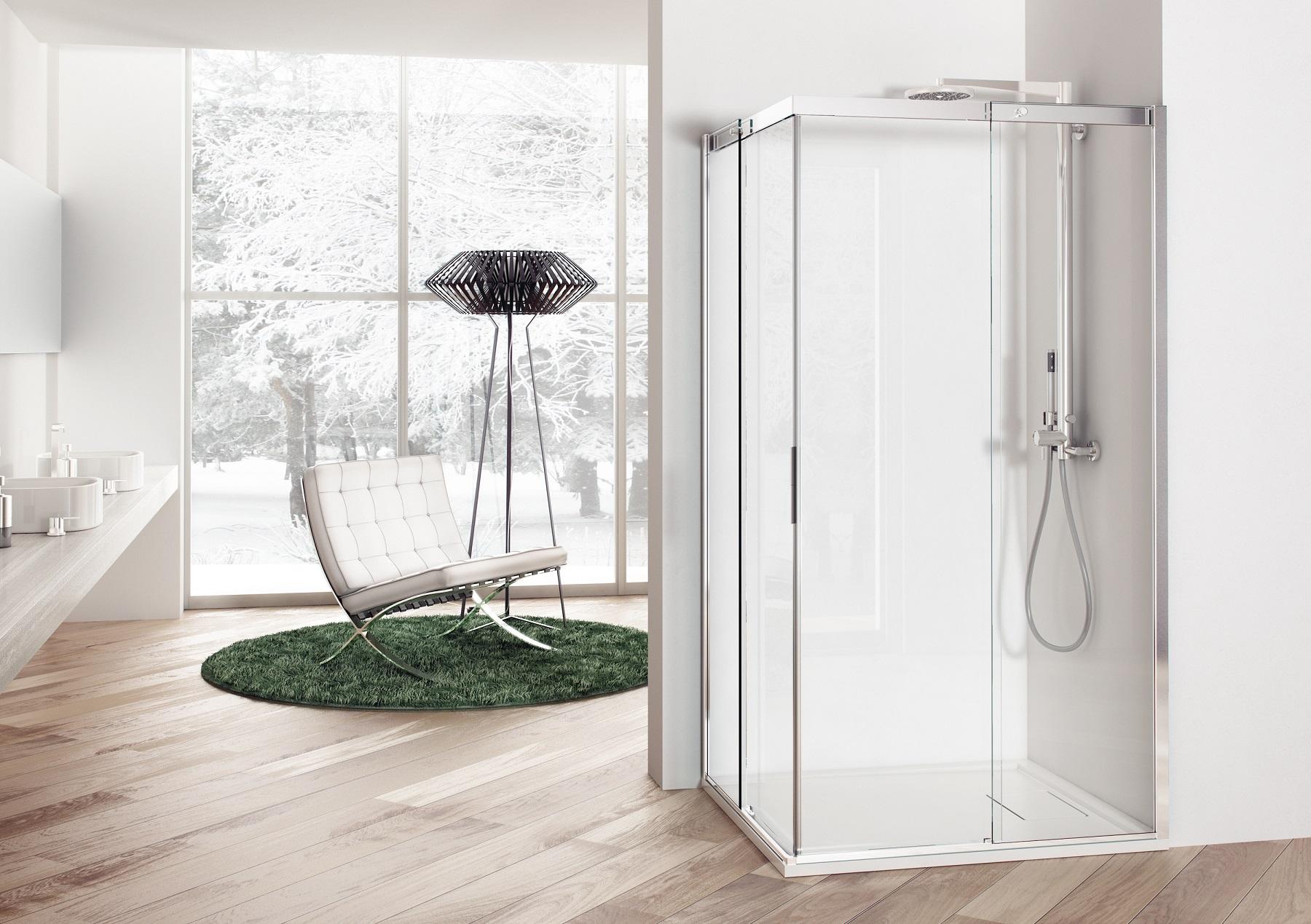 box doccia su due lati: come sceglierlo e combinazioni possibili