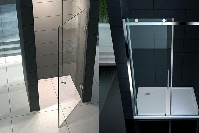 Box doccia: porta scorrevole o porta battente?