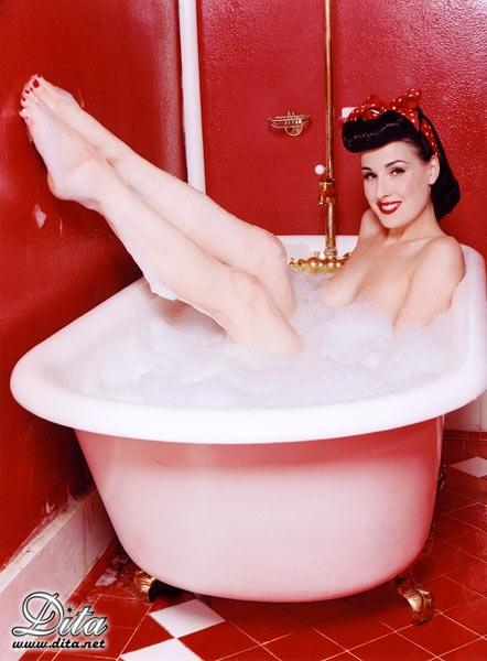 Il bagno è sexy