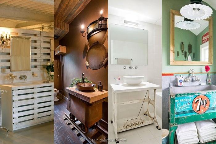 Idee Cucito Per Il Bagno : Arredare il bagno con creatività