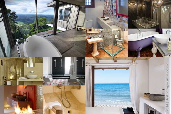 Bagni dal mondo - bathroom tour 2014