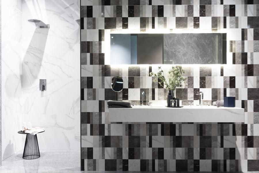 gres effetto marmo: collezione Roma Classic, Fap Ceramiche, Cersaie 2018
