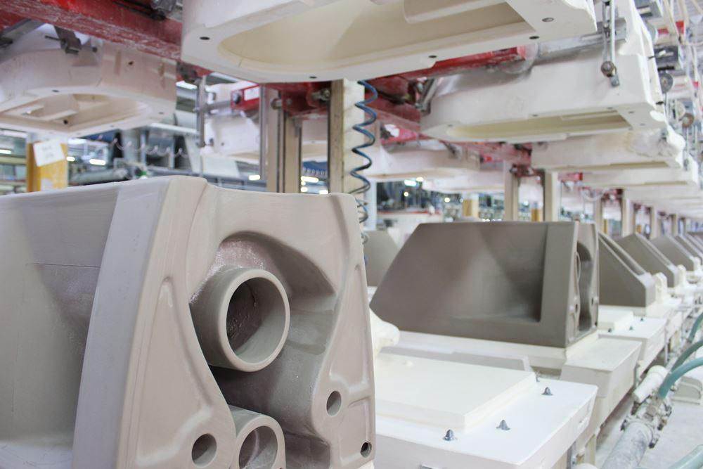 GSI fabbrica produzione sanitari in ceramica