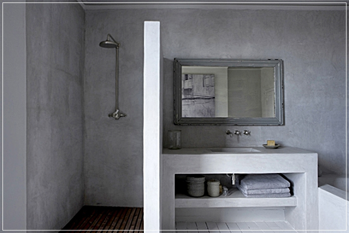 Scegliere il rivestimento per il bagno: il tadelakt.