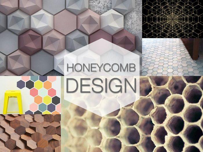 Design a nido d'ape: ispirazioni per gli interni, l'arredo bagno, il graphic design, fashion & food design