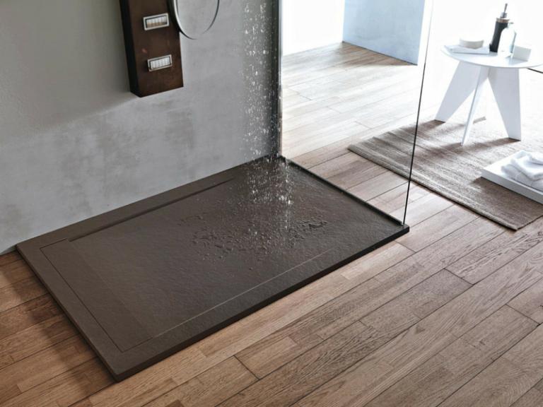 Piatto doccia effetto pietra Ardesia