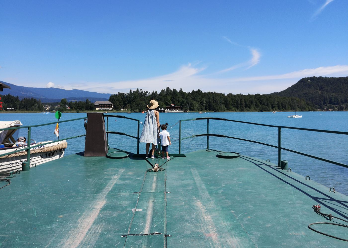 faaker see carinzia lago turchese