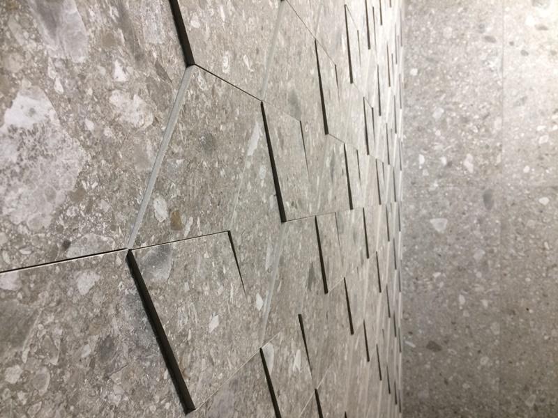 Gres effetto tridimensionale collezione Ceppo di Gré by Marazzi