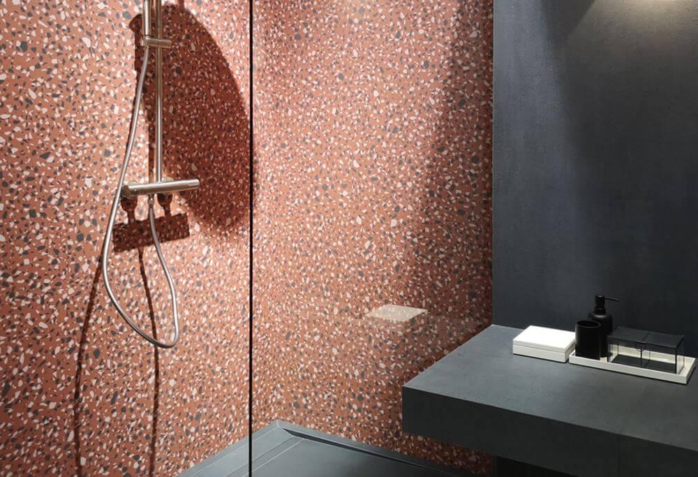 bagno gres effetto seminato veneziano