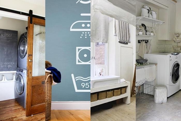 Arredare e organizzare la lavanderia in modo originale