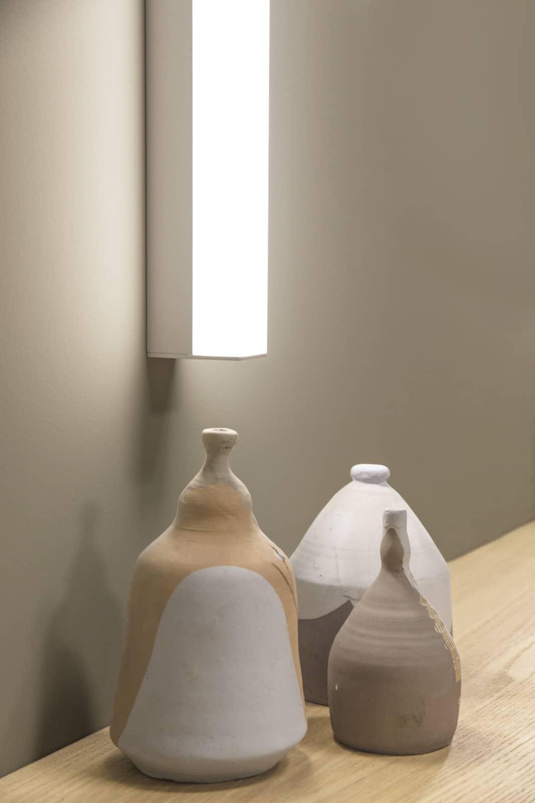 KIOO illuminazione bagno lampade laterali specchio