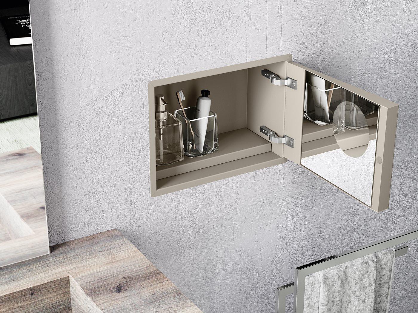 Piastrelle Per Bagno Piccolo accessori a incasso e altre idee per il bagno piccolo