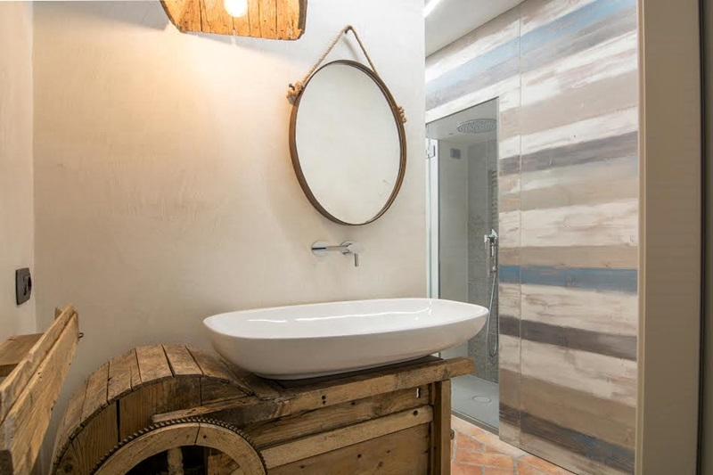 Italian bathrooms #6: bagno in stile industriale