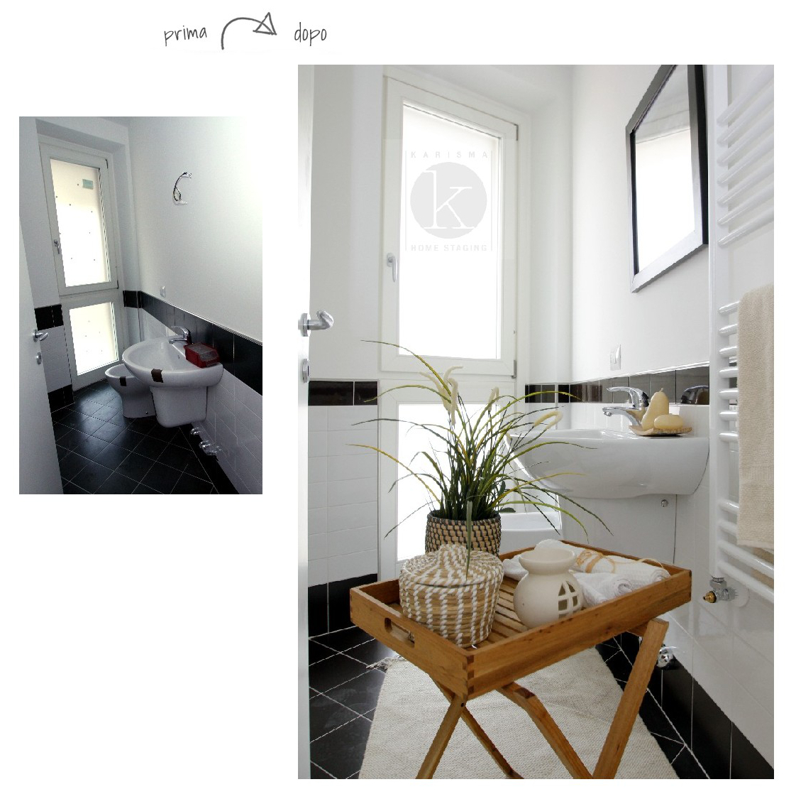 come fotografare un bagno