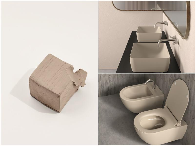 lavabi e sanitari colorati GSI Ceramica