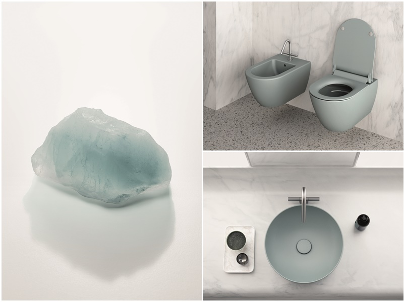 Bathroom Collections Lavabi E Sanitari Colorati Color Elements Di Gsi