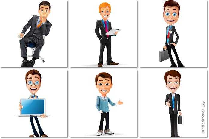 business man vectorial file
