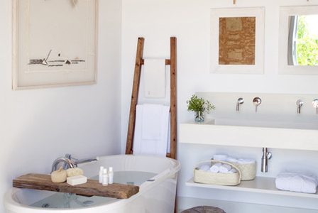 Beautiful bathroom interior from mallorca