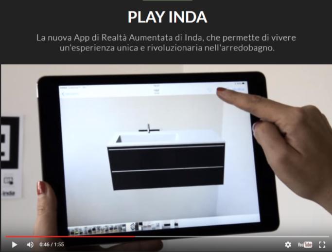 Play Inda App per immaginare il bagno