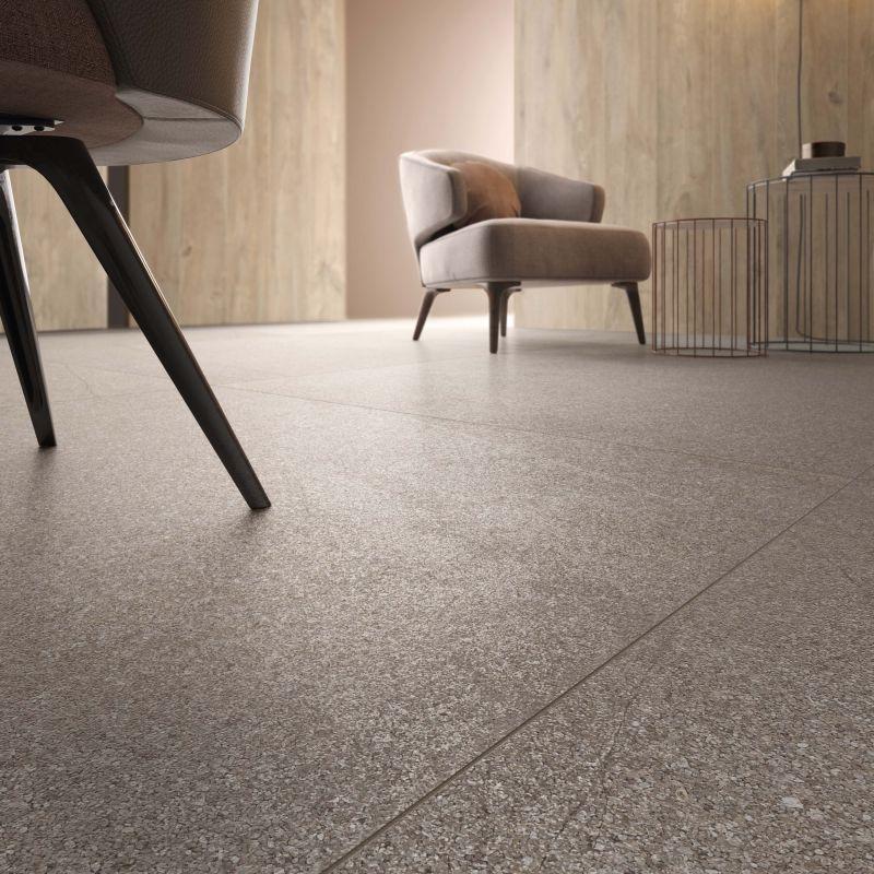 pavimento effetto seminato veneziano (dettaglio texture)