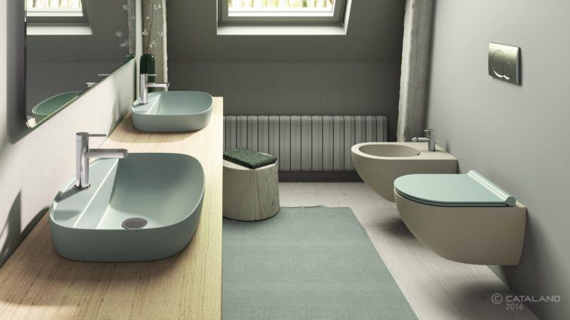 Scegliere i sanitari, collezione Colori Ceramica Catalano